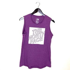 The North Face Purple Athletic Tank